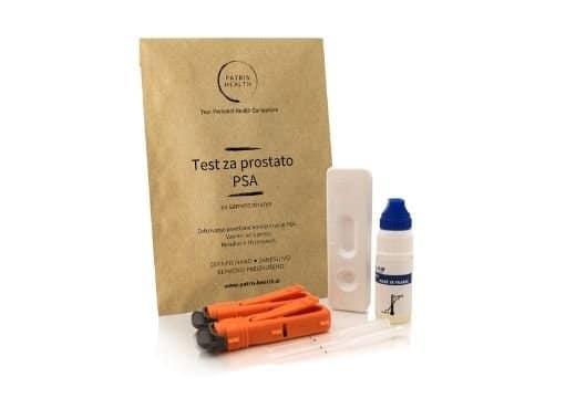 Patris Health - Komplet za samotestiranje PSA v krvi