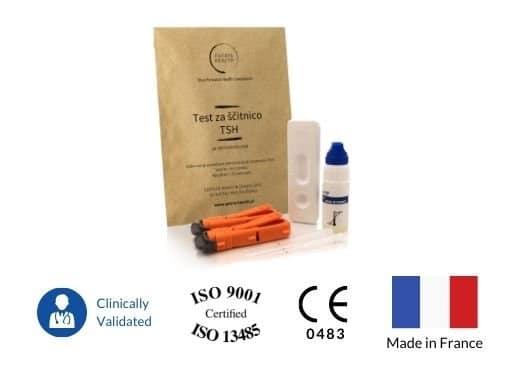 Patris Health - Certifikati hitrega testa TSH za ščitnico