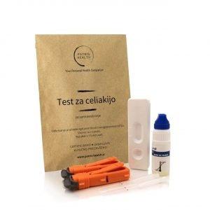 Patris Health - Test za celiakijo za samotestiranje