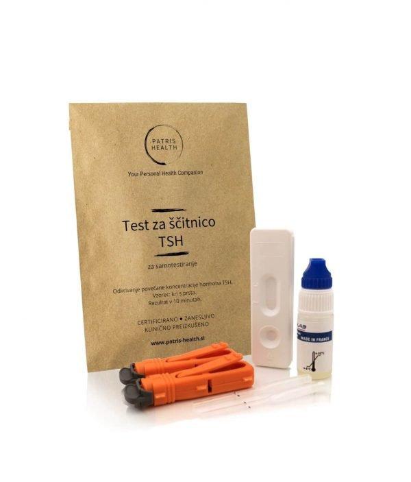 Patris Health - Test za ščitnico TSH za samotestiranje